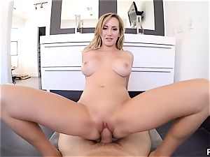 point of view style vagina nailing uber-cute mummy Brett Rossi
