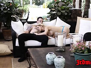 huge-chested towheaded milf Cherie Deville Gets hammered rock-hard