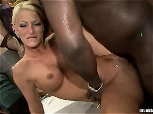 Bibi Fox with hotty friends packed with scorching spunk