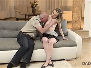 DADDY4K. fucky-fucky of parent and youthfull lady concludes with unexpected internal ejaculation