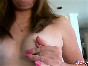 USAwives elderly Mature Lisal magnificent Striping down