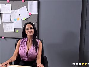 huge-chested professor Ava Addams is drilled by her schoolgirl