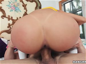 Veronica Rodriguez fucked by a monster stiffy