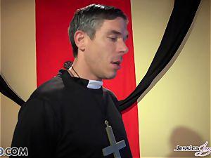 nasty nuns Jessica Jaymes and Nikki Benz pleasuring gods dreams