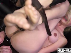 bondage anal pound fortunately, a milky van approaches and the driver stops to see if