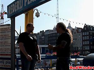 Amsterdam superslut cocksucking tourist