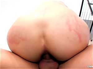 LiveGonzo Bobbi Starr super-fucking-hot brown-haired Does buttfuck For joy
