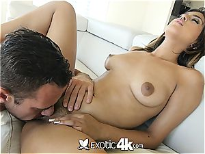 super hot Latina Sophia Leone gets a large facial