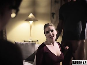 pure TABOO Lena Paul coaxed into buttfuck with Bosses hubby