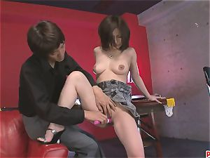 big-chested Ayami Gets Help With Some lovemaking fucktoys